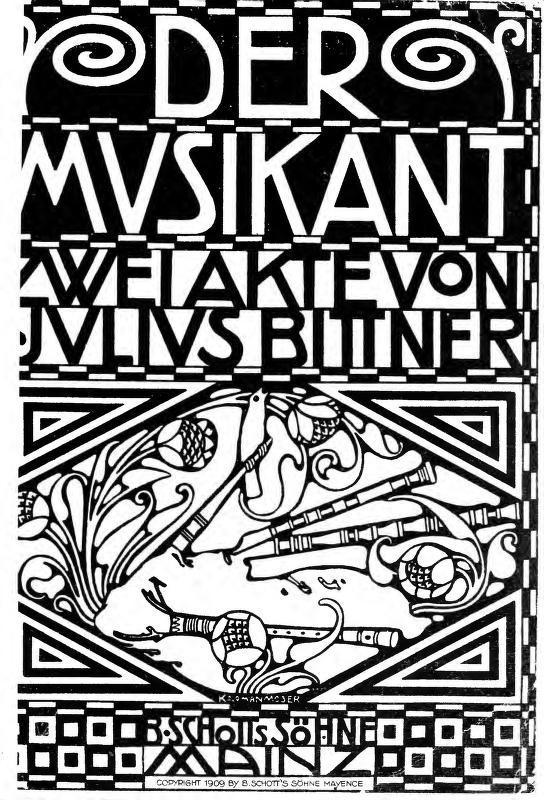 Julius Bittner - Der Musikant
