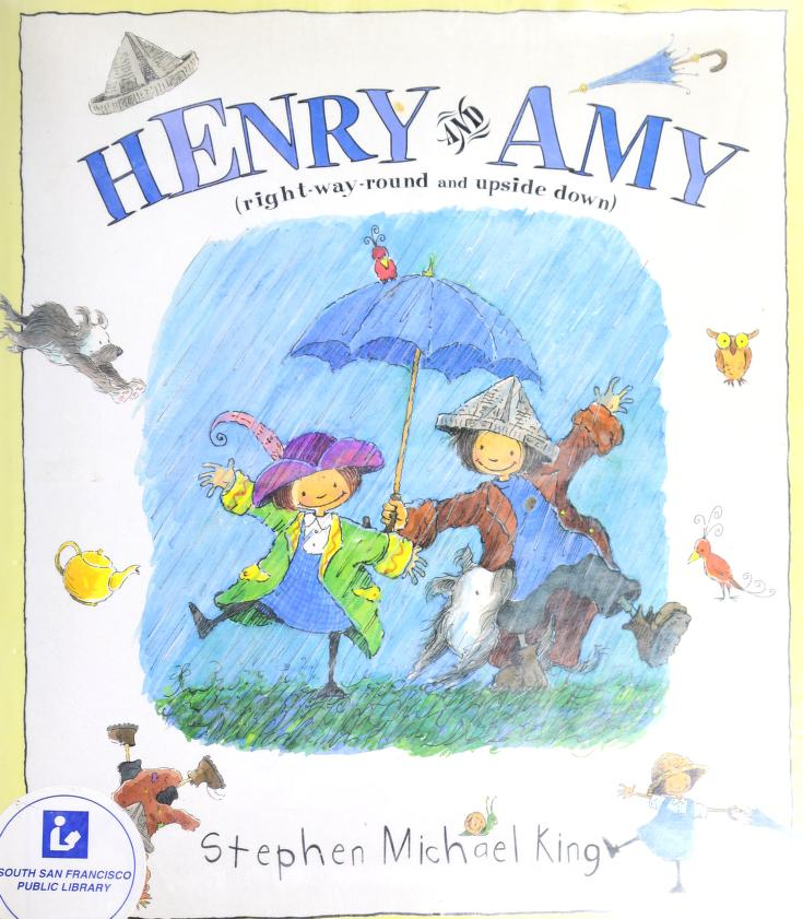 Henry and Amy (right-way-round and upside down) by Stephen Michael King