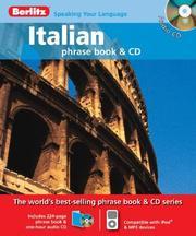 Berlitz Italian Phrase Book & CD (English and Italian Edition) [Audio CD]