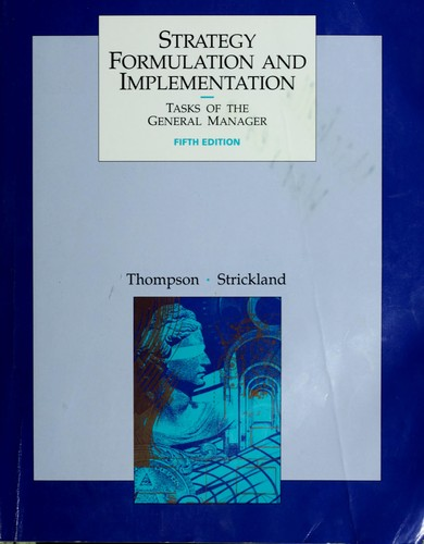 Download Strategy formulation and implementation
