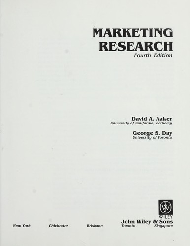 Download Marketing research