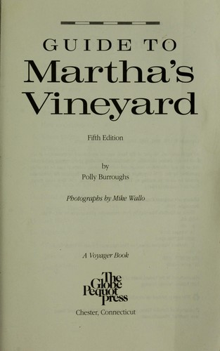 Download Guide to Martha's Vineyard