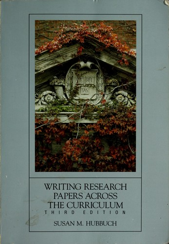 Download Writing research papers across the curriculum
