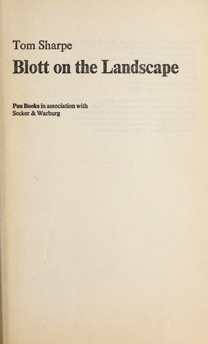 Download Blott on the landscape