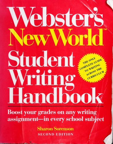 Download Webster's New World student writing handbook