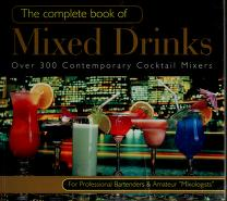 Cover of: The complete book of mixed drinks |