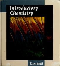 Cover of: Introductory Chemistry | Steven S. Zumdahl