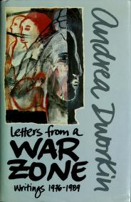 Cover of: Letters from a war zone | Dr. Andrea Sharon Dworkin