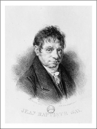 Photo of Jean Baptiste Say