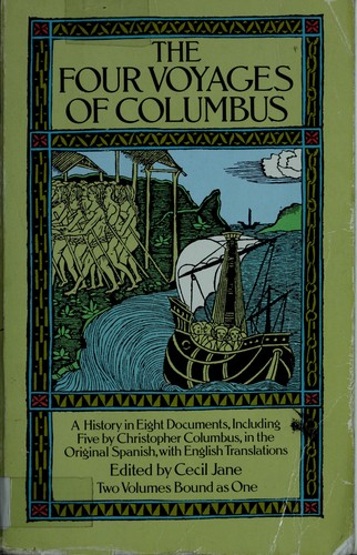 The four voyages of Columbus by Cristóbal Colón
