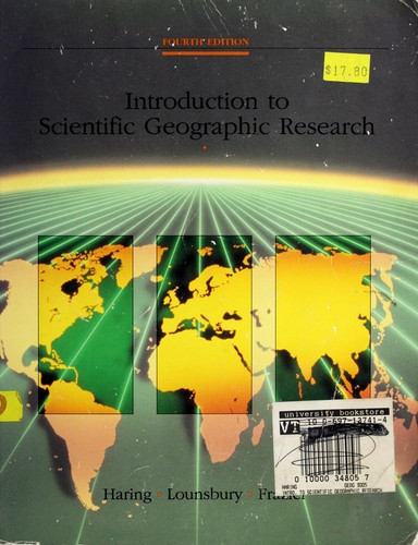Introduction to scientific geographic research.
