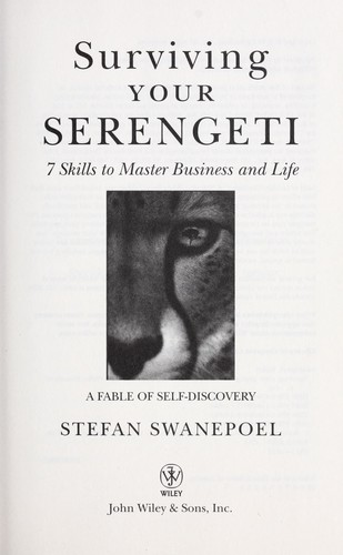 Surviving your Serengeti by Stefan Swanepoel