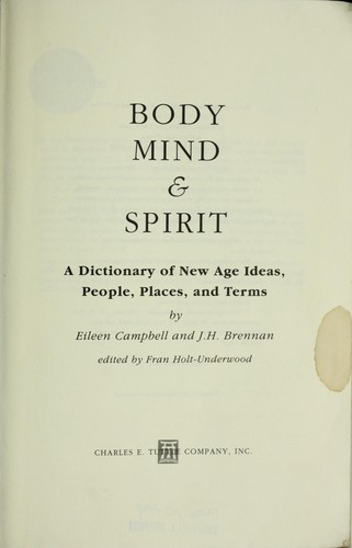 Body, mind & spirit by Eileen Campbell