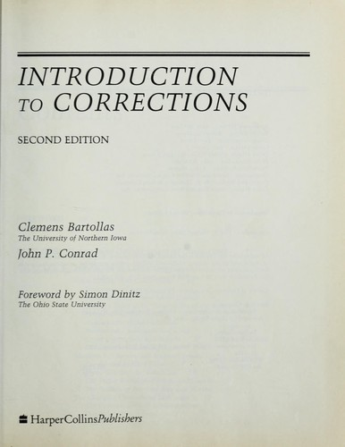 Introduction to corrections by Clemens Bartollas